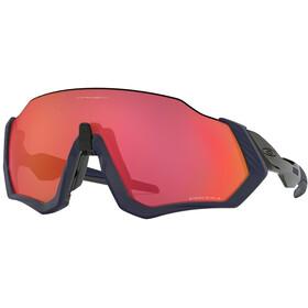 Oakley Flight Jacket Sunglasses matte navy/prizm trail torch
